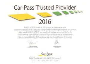 Car-Pass Trusted Provider 2016