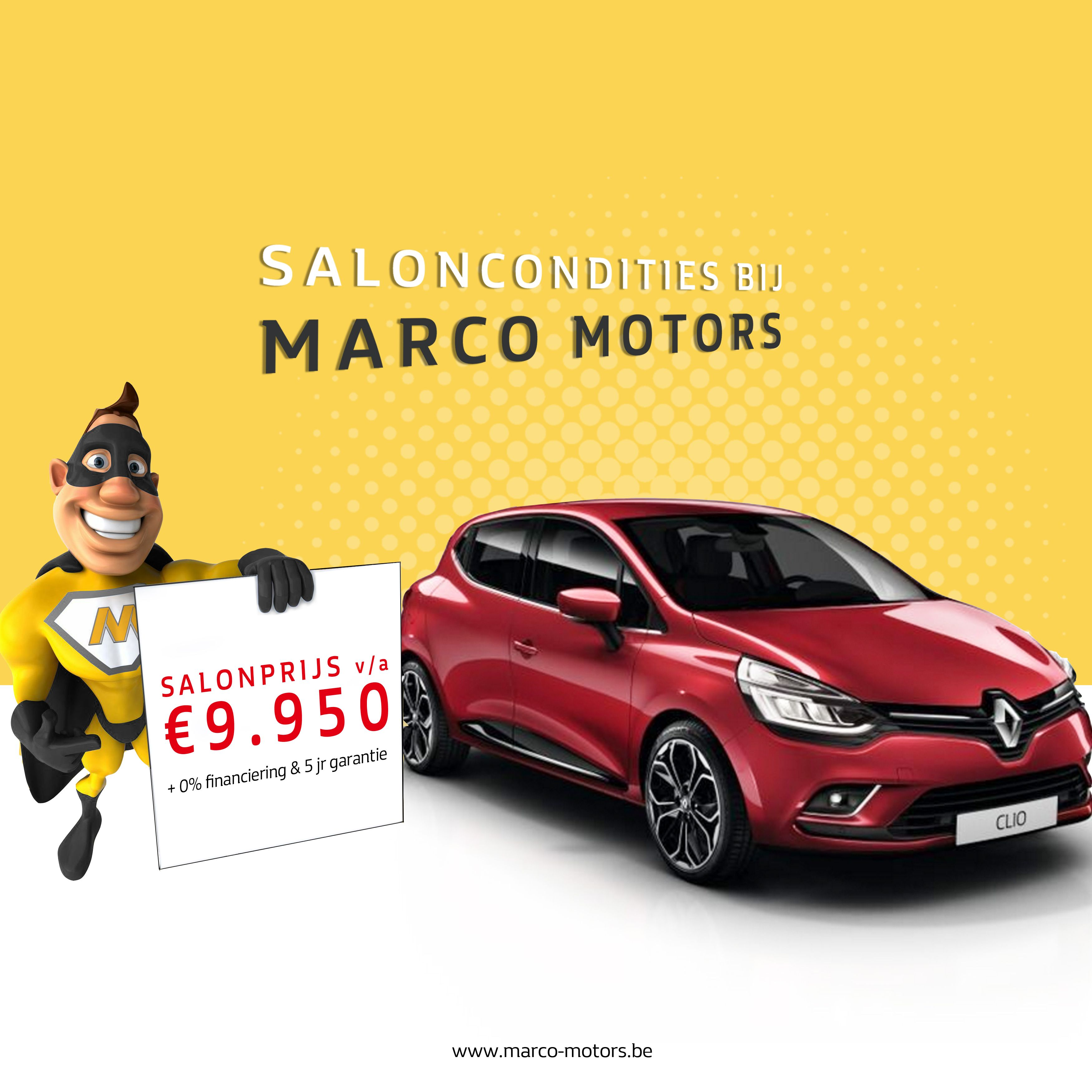 Renault saloncondities 2017