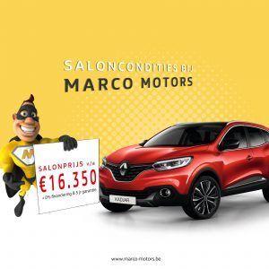 Renault Kadjar - saloncondities 2018