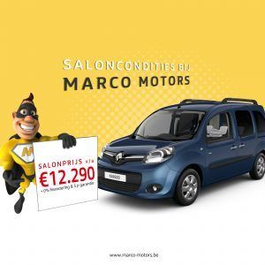 Renault Kangoo - saloncondities 2018