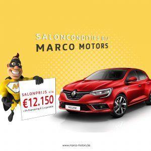 Renault Megane - saloncondities 2018
