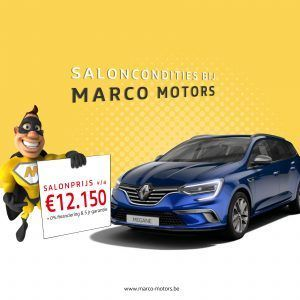 Renault Megane Grandtour - saloncondities 2018