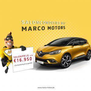 Renault Scenic - saloncondities 2018