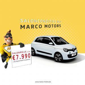 Renault Twingo - saloncondities 2018