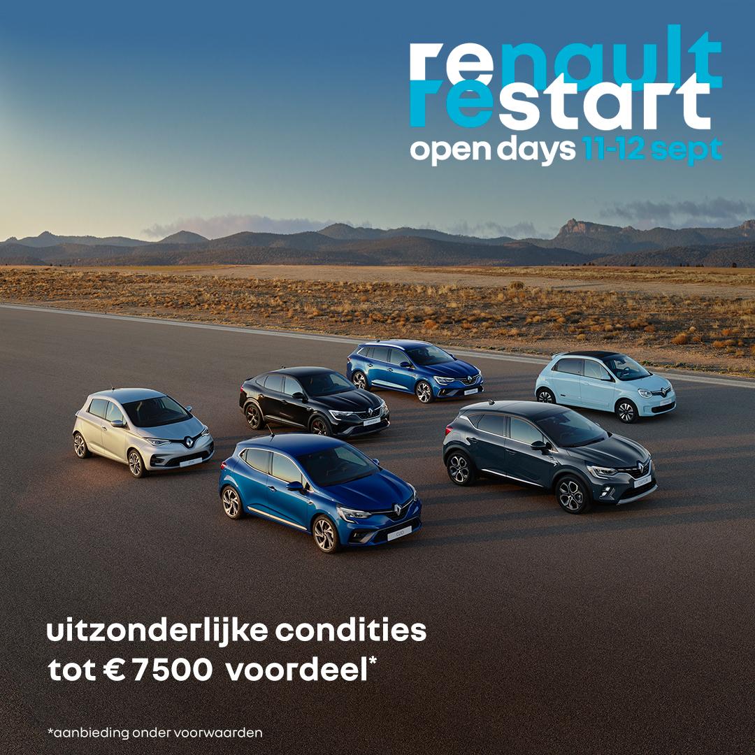 Opendeurdagen bij Renault Marco Motors Deurne